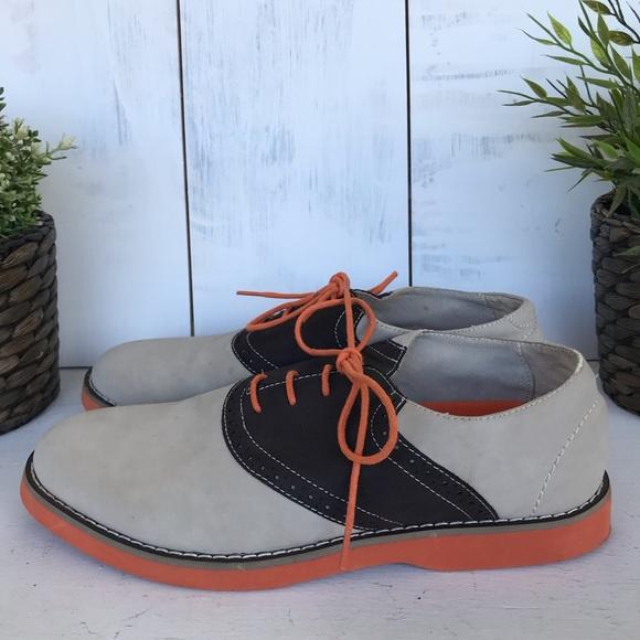 Perry Ellis Other - Perry Ellis Portfolio Saddle Oxford brown/tan shoe